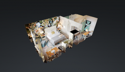 Boutique Hotel – Rm 105 3D Model