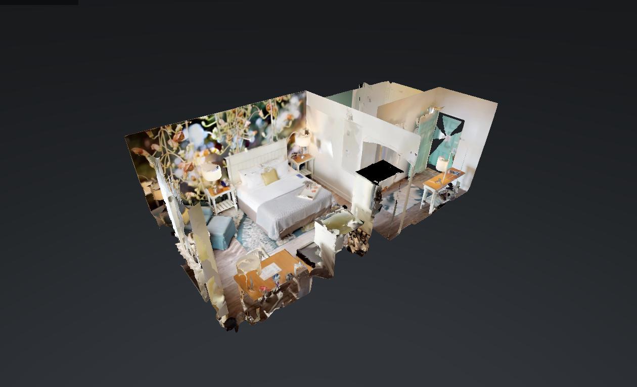 3D Virtual Hotel Room Tour