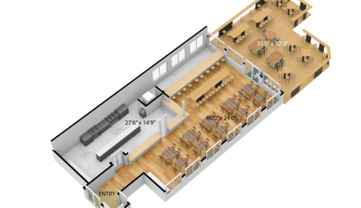 Site and Floor Plan Examples 3D Model