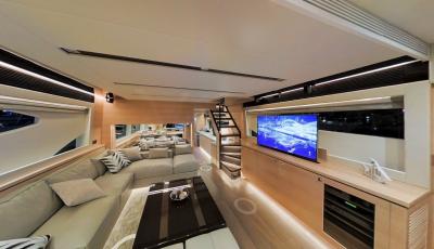 Yacht 3D Tour 3D Model